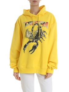 MSGM - Dream hoodie in yellow