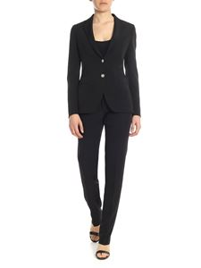 Tagliatore - Alicya single-breated suit in black