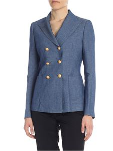 Tagliatore - Anise jacket in denim blue