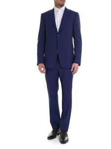 Z Zegna - Classic dress in melange blue