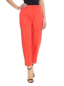 Tela - Rivoli trousers in coral red