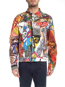 Moschino - Multicolor jacket with foulard print