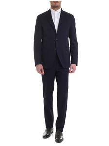 Luigi Borrelli - Mary suit in blue cotton