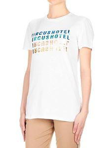 Circus Hotel - Circus Hotel printed t-shirt in white