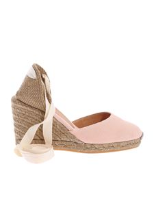 Castaner - Carina wedge espadrilles in pink