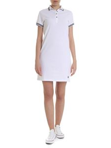 Colmar - Polo style short dress in white