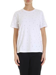 Michael Kors - Decorated T-shirt in white