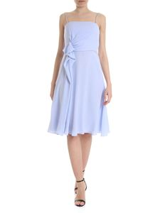 Emporio Armani - Dress in light blue with drapery