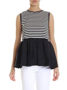 Jucca - Black and white striped top