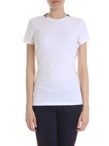 Rossignol - White T-shirt with multicolor edges