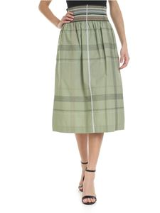 Sportmax - Edicola skirt in sage green color
