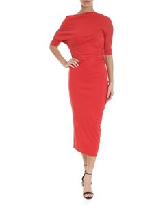 Vivienne Westwood Anglomania - Red jersey sheath dress