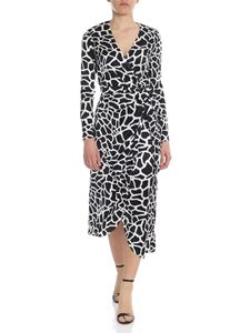 Federica Tosi - Wrap dress in black and white