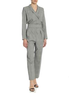 Max Mara - Corone jumpsuit in Prince of Wales