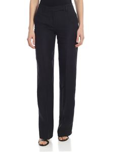 True Royal - Luren palazzo trousers in black