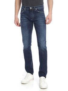 Dondup - Ian regular fit jeans in blue