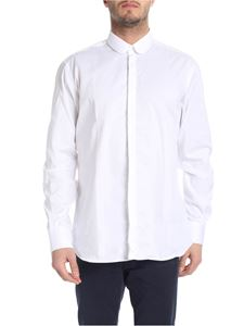 Karl Lagerfeld - Shirt in white pure cotton