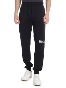 Rossignol - Black pants with Rossignol print