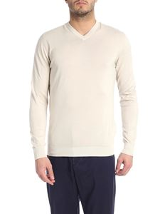 Fedeli - Supima cotton pullover in beige