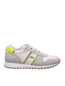 Hogan - H429 sneakers in grey and white