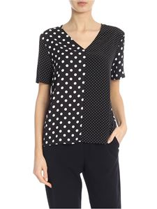 PS by Paul Smith - Polka dot t-shirt in black and white