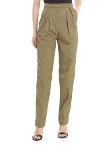 Golden Goose Deluxe Brand - Felicia trousers in olive green