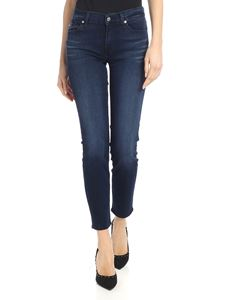 7 For All Mankind - Roxanne crop jeans in blue