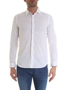 Paul Smith - Camicia bianca con disegni