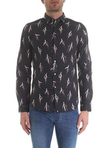 Paul Smith - Camicia floreale nera