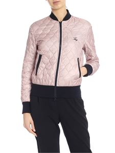 Fay - Quilted jacket in pink and blue