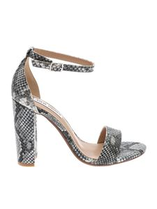 Steve Madden - Grey sandals with snake print
