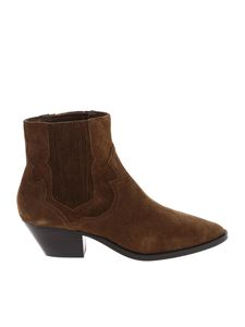 Ash - Brown Falcon ankle boots