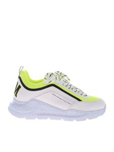 MSGM - White leather Z Running sneakers