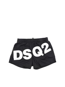 Dsquared2 - Dsq2 boxer swimsuit in black