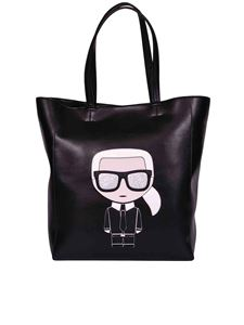 Karl Lagerfeld - K Ikonik shopper bag in black