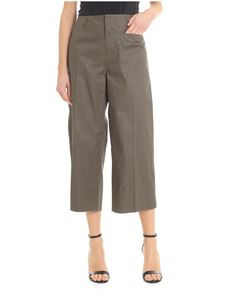Sofie D'Hoore - Wide trousers in olive green