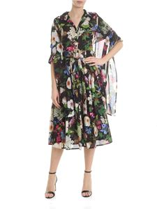 Samantha Sung - Audrey floral dress in black