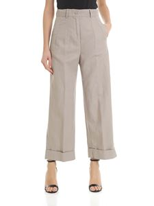 Aspesi - Trousers with turned-up bottom in beige