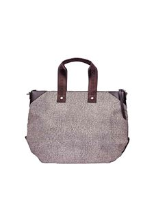 Borbonese - Large handbag in brown Jet Op