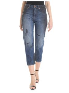 Vivienne Westwood Anglomania - Jeans New BF blu con logo