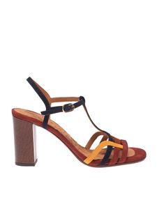 Chie Mihara - Bely sandals in red and black
