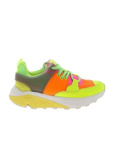 Dondup - Sneakers in yellow fluo leather