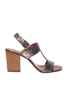 Chie Mihara - Hein sandals with animal print
