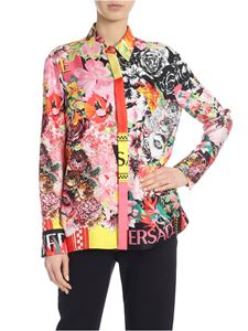 Versace - Shirt with multicolor pattern