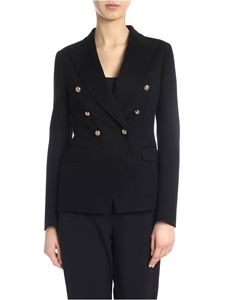 Tagliatore - Alycia double-breasted jacket in black
