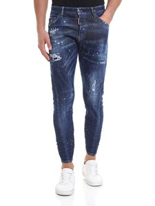 Dsquared2 - Jeans Sexy Twist blu destroyed