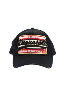 Dsquared2 - Canadian Brothers baseball cap in black