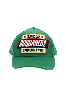 Dsquared2 - Canadian Twins baseball cap in green