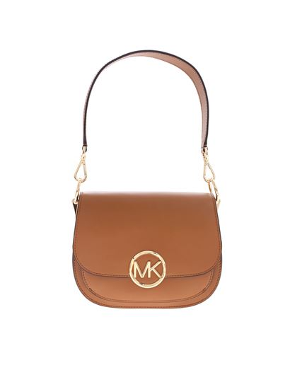 8d481f0cfc5a Michael Kors Spring Summer 2019 lillie shoulder bag in leather-color ...
