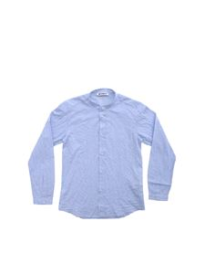 Dondup - Check shirt in light blue